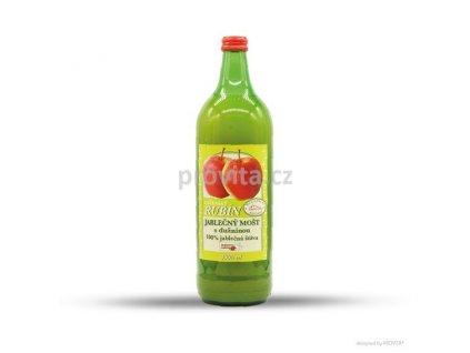 RUBÍN Mošt jablečný s vlákn. 100% 1l