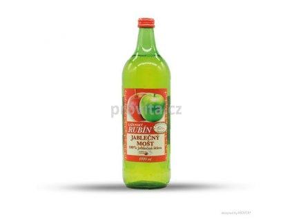 RUBÍN Mošt jablečný 100% 1l