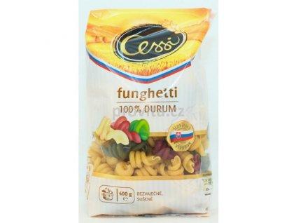 CESSI Těstoviny Funghetti sem. trojbarevné bezvaječné 400 g