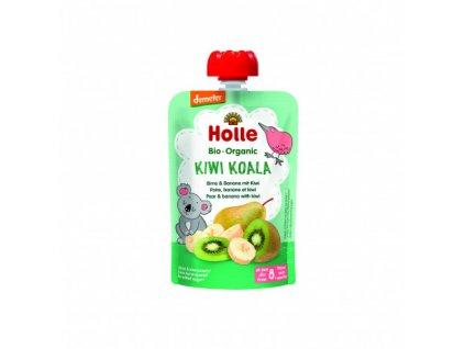 Ovocné pyré hruška, banán, kiwi BIO pro děti 100 g Holle