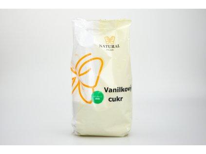 Cukr vanilkový s fruktózou Natural 500g