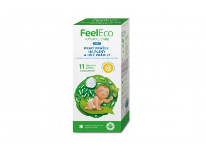 Prací prášek na pleny a bílé prádlo Feel Eco 660g