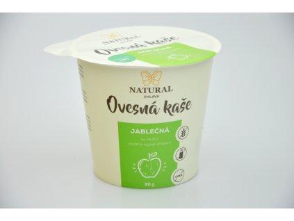 Natural Jihlava Ovesná kaše bez lepku jablečná 80 g
