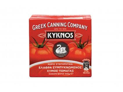 Koncetrovaná rajčatová šťáva pyré Kyknos 500g