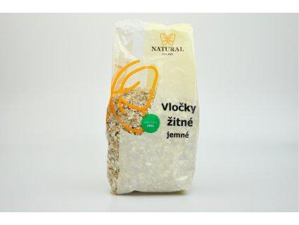 Vločky žitné jemné Natural 300g