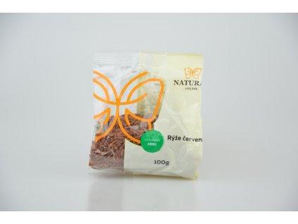 Rýže červená Natural 100g