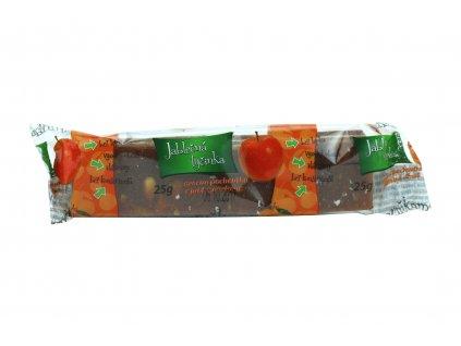 Jablečná tyčinka meruňková Trutna 25g
