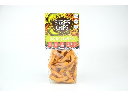 Strips Chips SMOKED JALAPEŇOS 80g