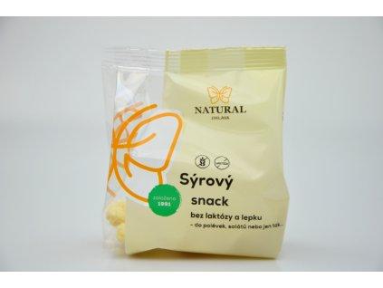 Sýrový snack bez laktózy a lepku Natural 30g