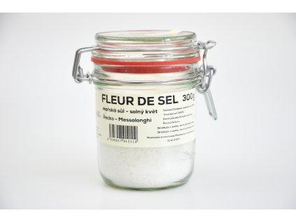 Fleur de Sel solný květ, mořská sůl, Řecko Messolonghi Natural 300g