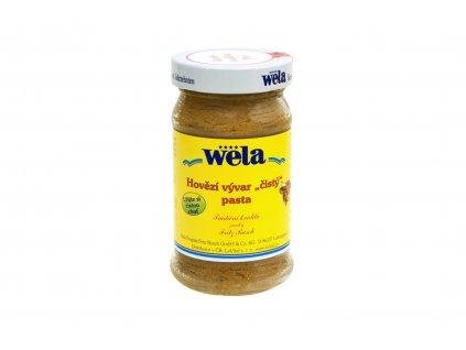 """Hovězí vývar """"čistý"""" pasta WELA 248g"""