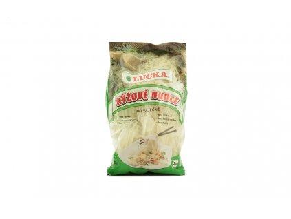 Rýžové nudle bezlepkové 3mm Lucka 240g