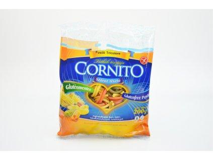 Těstoviny bez lepku CASERECCE trojbarevné Cornito 200g