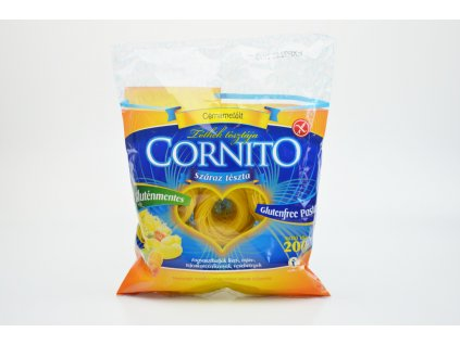 Těstoviny bez lepku VLASOVÉ NUDLE HNÍZDA Cornito 200g