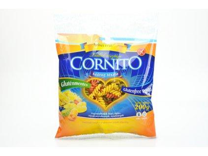 Těstoviny bez lepku VŘETENA trojbarevná Cornito 200g