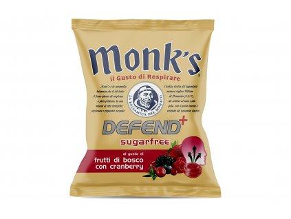 Balsamikové bonbony bez cukru Defend+ brusinky a lesní ovoce Monk´s 46g