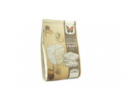 Směs na bezlepkový chléb tmavý Natural 500g