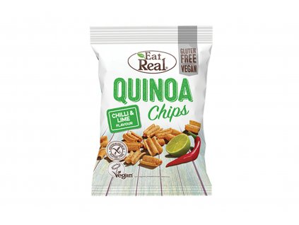 Quinoa chips chilli a limetka Eat Real 30g
