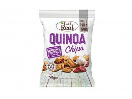 Quinoa chips sušená rajčata a pečený česnek Eat Real 30g