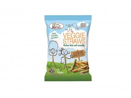 Veggie Straws Kids Eat Real 20g