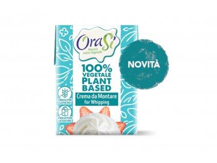 Rostlinný krém na šlehání, vegan, bez lepku a mléka OraSi 200ml