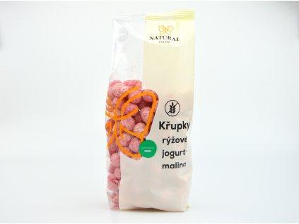 Křupky rýžové jogurt malina Natural 140g
