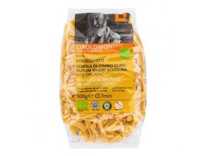 Těstoviny strozzapreti semolinové 500 g BIO GIROLOMONI