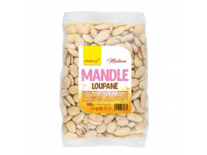 Mandle loupané Medium 500 g