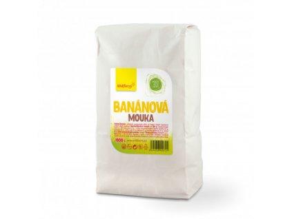 bananova mouka ze zlutych bananu 1000 g wolfberry