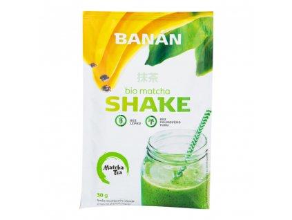 Matcha shake banán bezlepkový BIO 30 g