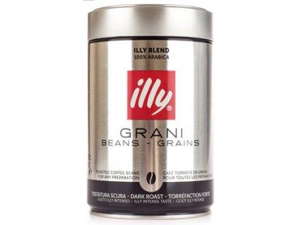 Illy Espresso Dark zrnková káva 250g