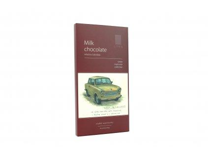 Čokoláda MILK CHOCOLATE TRABANT 90g