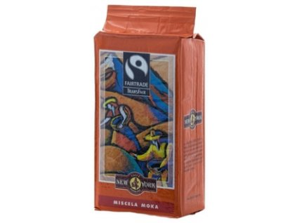 New York Caffé Fairtrade mletá káva 250 g