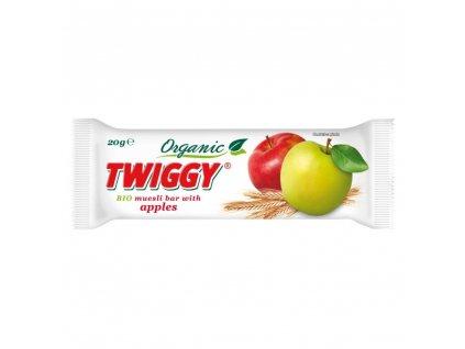 EKOFRUKT Tyčinka Twiggy müsli s jablky BIO 20 g