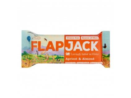 Flapjack ovesný meruňka mandle bezlepkový 80 g WHOLEBAKE