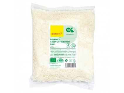 kokos strouhany wolfberry bio 250 g