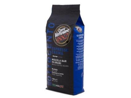 Vergnano Espresso Crema 800 zrnková káva 1kg