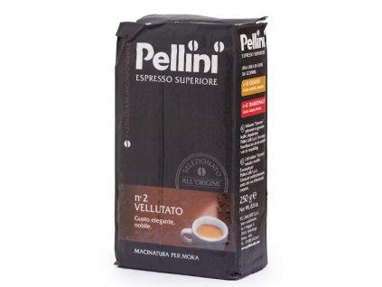 Pellini Caffé Espresso Superiore N°2 Vellutato mletá káva 250 g