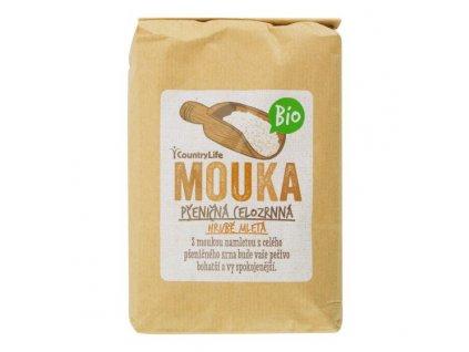 COUNTRY LIFE Mouka pšeničná celozrnná hrubě mletá BIO 1 kg