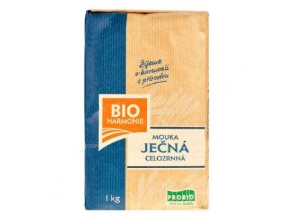 Mouka ječná celozrnná jemně mletá 1 kg BIO BIOHARMONIE