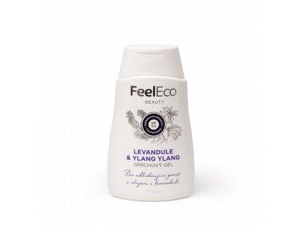 sprchovy gel levandule a ylang ylang feel eco 300 ml