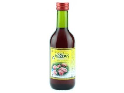 Bylinkový sirup Růže Klášterní officína 250 ml