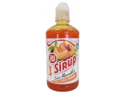 Cukr Stop sirup svěží meruňka 500ml
