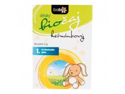 Čaj Heřmánkový dětský 20 g BIO BABIO a