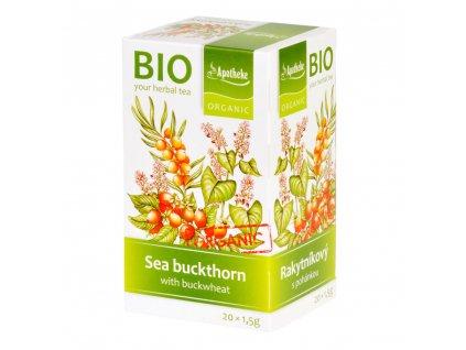 Apotheke BIO Rakytníkový čaj s pohankou 20x1.5g