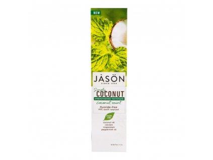 JASON Zubní pasta simply coconut posilující 119 g a