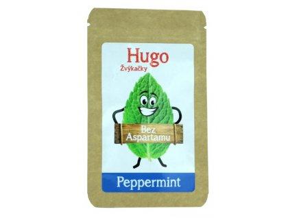 Hugo Žvýkačky Peppermintbez aspartamu 9 g