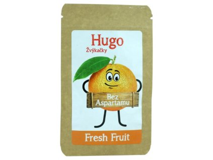 Hugo Žvýkačky Fresh Fruit bez aspartamu 9 g