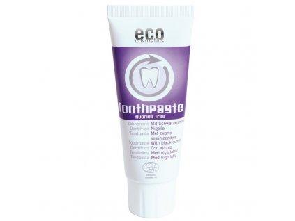 Eco Cosmetics Zubní pasta s černuchou BIO 75 ml bez fluoru