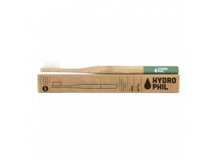 Hydrophil Bambusový kartáček medium zelený 100% z obnovitelných zdrojů